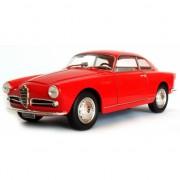 Alfa Romeo Giulietta Sprint rood schaalmodel 1:24