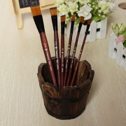 Generic 6Pc Nylon Artists Paint Brush Brushes Oil Watercolor Painting