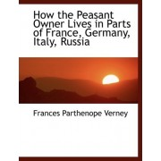 How the Peasant Owner Lives in Parts of France, Germany, Italy, Russia by Frances Parthenope Verney