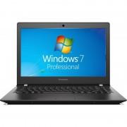 Laptop Lenovo E31-70 13.3 inch Full HD Intel Core i3-5005U 8GB DDR3 256GB SSD FPR Windows 7 Pro Black
