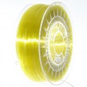Filament: PLA semitransparent, galben (deschis) 1kg 195°C
