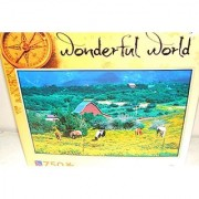 Horses in Field of Yellow Horse Farm Jigsaw Puzzle 750 Piece Wonderful World New in Box