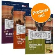 Gemengd Probeerpakket: Happy Dog Tasty Sticks - 9 x 10 g (3 soorten)