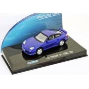 Macheta Porsche 911 (996) Turbo 2000 albastru 1:43