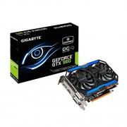 Gigabyte GV-N960OC 2GD NVIDIA GeForce GTX-960 2GB-Scheda Video NVIDIA, GeForce GTX 960, 4096 x 2160 Pixeles, 2 GB DDR3 Di Memoria Dedicata, Standard-SDRAM, Bus a 128 Bit)