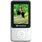 MP4 Player Transcend TS8GMP710W, 8GB, Radio FM (Alb)