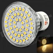 LeXing LX-005 GU10 2.5W 120lm 3500K 48-SMD 3528 LED Warm White Spotlight (220~240V)