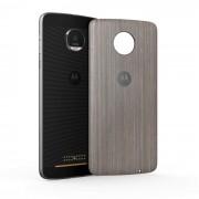 Motorola Mods Cache-Batterie Style Bois Silver Oak Pour Moto Z/Z Play