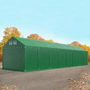 Profizelt24 Lagerzelt 4x16m PVC dunkelgrün Unterstand, Lager