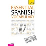 Essential Spanish Vocabulary: Teach Yourself by Mike Zollo