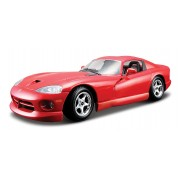 Dodge Viper GTS Coupe - rosu - 1:24