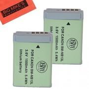 2-Pack of BM Premium NB-13L Batteries for Canon PowerShot G5 X G7 X G7 X Mark II G9 X SX720 HS Digital Camera