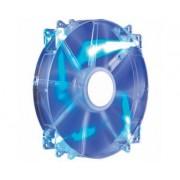 MegaFlow 200 Blue LED 200mm ventilator (R4-LUS-07AB-GP)