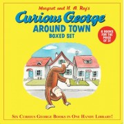 Curious George Around Town Boxed Set by H A Rey