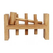 Classic Toddler Game Wooden Hammer Toy Pound-A-Peg High Quality Pounding Bench Early Explorer