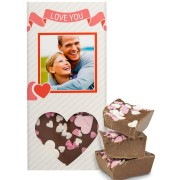 Chocoladereep - Liefde (melk)