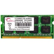 SO DDR2 4GB PC 800 CL6 G.Skill 4GBSQ