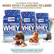 USN 100% Premium Whey tejsavó fehérje koncentrátum, izolátum komplex 2,28kg több ízben