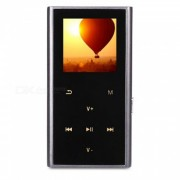 """Alta calidad no destructiva 1.41"""" 8GB MP3 hi-fi mini walkman - negro"""