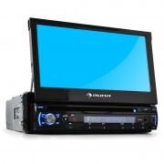 Autórádió Auna DTA90 18cm Moniceiver DVD-lejátszó USB-SD (TC4-DTA90)