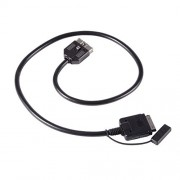 XCSOURCE iPhone iPod iPad Audio interface Aux Cable for Land Rover Range Rover Sport Jaguar AC511