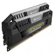 Corsair CMY8GX3M2A2400C11 Vengeance Pro 8GB (2x4GB) DDR3 2400Mhz CL11 Mémoire pour ordinateur de bureau performante avec profil XMP.