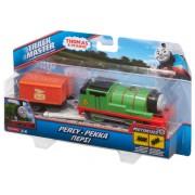 Locomotiva motorizata cu vagon Thomas&Friends - PERCY BMK87-BML07