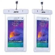 JOTO Universal Waterproof Case Bag Pouch for Apple iPhone 6, 6 plus, 5S 5C 5 4S, Samsung Galaxy Note 4 / 3 / 2, Galaxy S5, S4, S3, HTC One M8, M7, HTC One Max, LG G2, G3, Nexus 6, 5, 4, Sony Xperia Z1, Z2, Nokia Lumia 520, 630, 930, 1520, BlackBerry Z10,