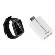 MIRZA DZ09 Smart Watch & Smart OTG for ASUS ZENFONE SELFIE
