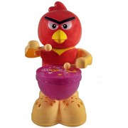 Blossom Lovely Cartoon Bird Drummer Baby Toy (Battery Operated) for Kids With 360 degree rotation function, Dynamic Music,Knock and colourful bright Lights,Multi color.