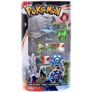 Pokemon TOMY Basic Figure 4-Pack White Kyurem Axew Crygonal & Virizion