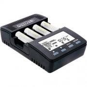 Cargador-Analizador Powerex MH-C9000 para 4 baterías AA/AAA