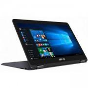 Лаптоп ASUS UX360CA-C4152T, Intel Core M3-7Y30, 4GB RAM, 256GB SSD, 13.3 инча FHD, Сив