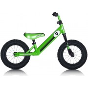"Rebel Kidz Air Lernlaufrad 12,5"" Race Motiv grün Kinderfahrräder"