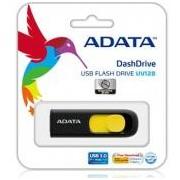 Adata USB Pendrive DashDrive UV128 32GB USB 3.0 Black+Yellow