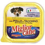 Miglior Cane - Alimento Completo Per Cani, Con Pollo E Tacchino - 150 G