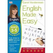 English Made Easy Early Writing Preschool Ages 3-5: Ages 3-5 preschool by Carol Vorderman