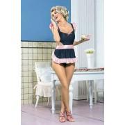 Sexy lingerie donna Obsessive, Cutie costume cuoca seducente