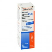 ratiopharm GmbH NASENSPRAY pur ratiopharm plus 20 ml