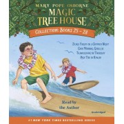 Magic Tree House Collection Books 25-28: #25 Stage Fright on a Summer Night; #26 Good Morning, Gorillas; #27 Thanksgiving on Thursday; #28 High Tide i