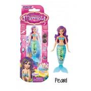 Sirena magica albastra Pearl - colectia Zuru Toys