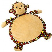 Mary Meyer Taggies Dazzle Dots Monkey Toy Baby Mat