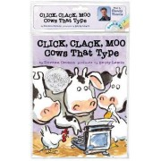 Click, Clack, Moo: Cows That Type Book and CD by Doreen Cronin