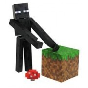 Set Minecraft Core Enderman Action Figure with Accessory