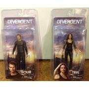 Divergent Action Figure Set Four & Tris Figures