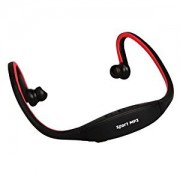 Sony Xperia E1 Compatible Ceritfied Professional Sports Headset With FM & Micro SD Card slot ( Assorted Colour )