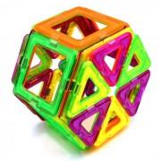 108 Piezas bloques magneticos de juguetes educativos para ninos - Multicolor