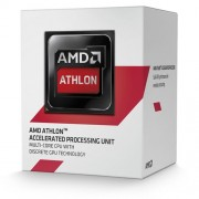 AMD APU Athlon 5150 Quad Core Processor (Socket AM1, 1.60GHz, 2MB, 25W, AMD Radeon HD 8400, AD5150JAHMBOX, Advanced Vector Extensions, Virtualization Technology)