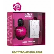 Paco Rabanne Комплект Black XS W Set - edt 50 ml + Kama Sutra Playing Cards