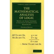 The Mathematical Analysis of Logic by George Boole